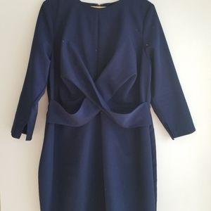 Eloquii blue dress